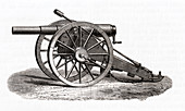 Armstrong field gun, illustration