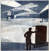 Le Bourget Airport, illustration