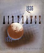 Air France, 1936, illustration