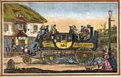 Gurney steam carriage, illustration