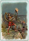 Gideon lamp, illustration