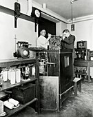Calorimetry and metabolism research, 1912