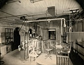 Calorimetry and metabolism research, 1899