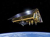 Sentinel 6 Michael Freilich satellite, illustration