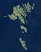 Faroe Islands, Sentinel 2 image