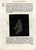 Orion Nebula from Huygens's 'Systema Saturnium' (1655)