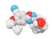 Ozanimod molecule, illustration