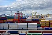 Dublin container port, Ireland