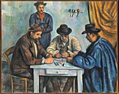 The Card Players, 19th century