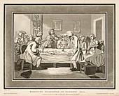Roderick's Examination at Surgeon's Hall, 1800