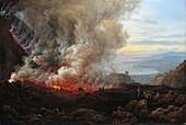 Eruption of Vesuvius, 1820