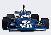1974 Tyrrell 007-01 Formula one car