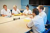 Nursing meeting