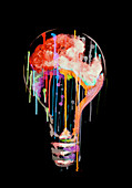 Light bulb, illustration