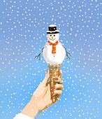 Winter, conceptual illustration