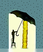 Insurance, conceptual illustration