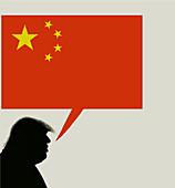 US-China talks, illustration