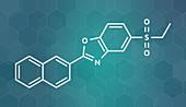 Ezutromid Duchene muscular dystrophy drug molecule