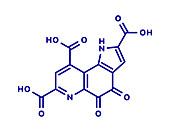 Pyrroloquinoline quinone redox cofactor molecule