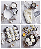 Bagels, step by step