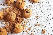 Shortbread Cookies mit Schokolade