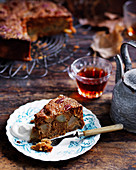 Pear and Seville Marmalade cake