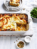 Pumpkin and Goat's cheese lasagne