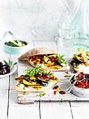 Grilled Vegetable and Capsicum Relish Subs