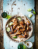 BBQ fish sauce wings