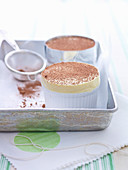 Creamy Marsala Souffles