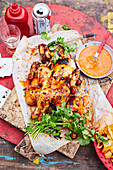 Paprika Chicken with Chilli Sauce
