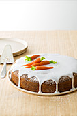 Swiss carrot cake