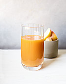 A pick-me-up drink with beta carotene
