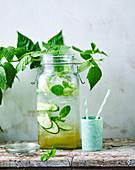 Elderflower, Mint and Cucumber Water