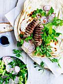 Lamb Kofta Salad