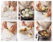 Gefüllte Zwiebeln zubereiten
