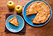 American Style Apple Pie
