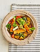 Sweet-and-sour Thai tofu