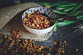 Muesli mix with dried fruits