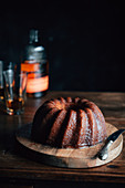 Kentucky Cake (wreath cake with bourbon, USA)