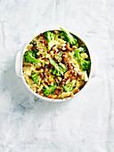Broccoli Macaroni and Blue Cheese