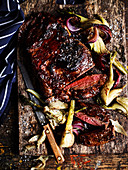 Quince Roasted Lamb