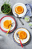 Mexican flans