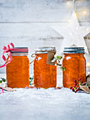 Aperol and red grapefuit marmalade