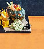 Healthy Halloween: Guacamole Monster