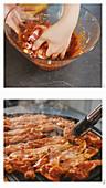 Koreanisches Bulgogi vom Schwein grillen
