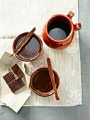 Café de Olla (Kaffee mit Zimt, Nelken und Schokolade, Mexiko)