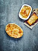 Filoteig und Suet Pastry (England)