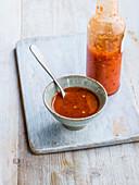 Devilish habanero chilli sauce