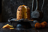 Panettone Sweet Bread with sultanas and orange
